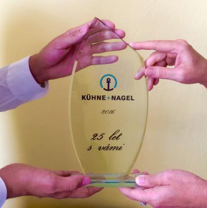 25 let Kühne + Nagel v ČR