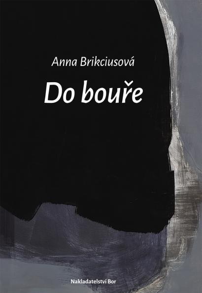 Anna Brikciusová: Do bouře (2020), Na obálce knihy reprodukce obrazu Josefa Žáčka. Nakladatelství Bor