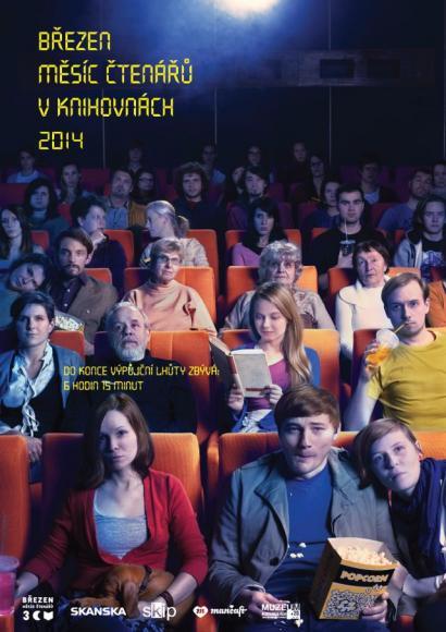Plakát Března měsíce čtenářů