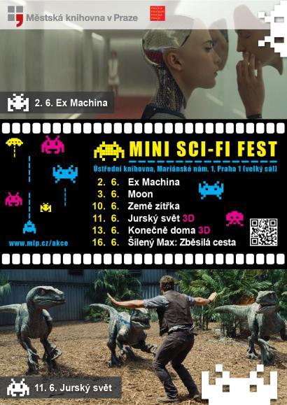 Mini sci-fi fest - plakát