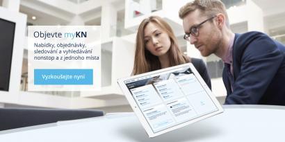 Objednávkový portál myKN Kühne + Nagel