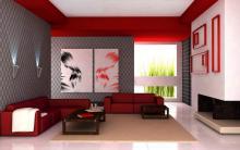 Barvy interiéru