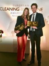 Essity získalo dvě ocenění European Cleaning and Hygiene Award