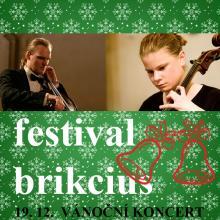 Festival Brikcius - vánoční koncert 19. prosince 2013, 19:30, http://Festival.Brikcius.com