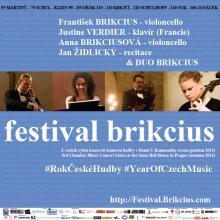 FESTIVAL BRIKCIUS - 3. ročník cyklu koncertů komorní hudby v Domě U Kamenného zvonu (podzim 2014) & Rok české hudby