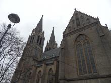 Pražská města - kostel sv. Ludmily