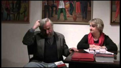 Během večera promluvil Vladimír Just a Jitka Sloupová. Vybrané ukázky přečetl Karel Beseda.