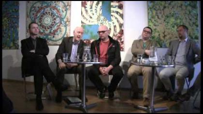 Nad evropskou problematikou kriticky diskutovali Jacques Rupnik, Roman Joch, Petr Hlaváček a Jan Michal.
