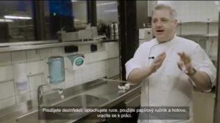Experiment Tork - pracovní procesy a hygiena v kuchyni